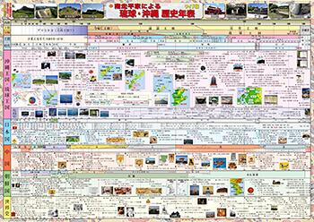 琉球・沖縄歴史年表(ワイド版) | フジデンシ出版